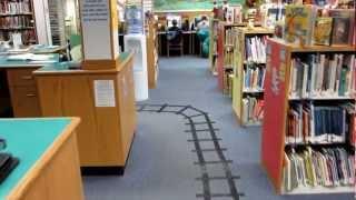 Locust Valley Library - Children's Library Train Tracks