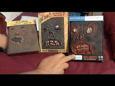 Army of Darkness (Book of the Dead Edition) Necromicon + A Look at Books 1 & 2