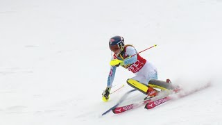 Mikaela Shiffrin WINS - Slalom Day 2 - 2015 Nature Valley Aspen Winternational