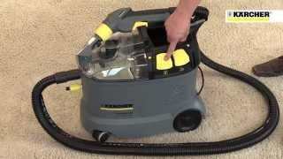 karcher puzzi 8 1c rm 519 garage watch the video. Black Bedroom Furniture Sets. Home Design Ideas