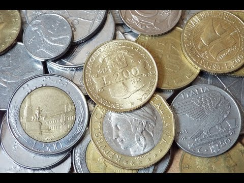 Italian Lira Coin Collection (2018)