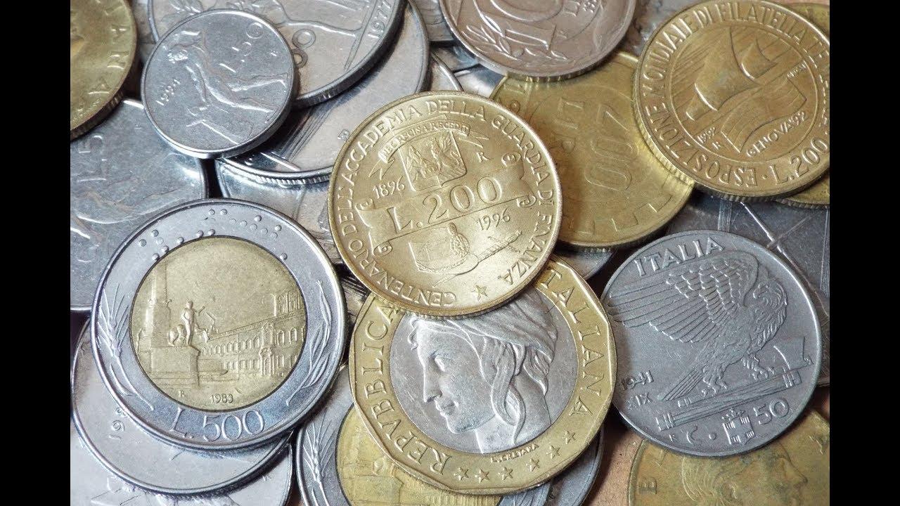 Italian Lira Coin Collection 2018