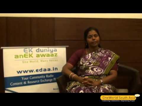 N Aruna talks about M.O.P Community Radio, Tamil Nadu