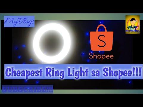 Pinakamurang Ring Light Sa Shopee (2019)| MyVlogs #016 drmychannel thumbnail