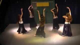 Yazmin Ferreyra junto a sus alumnas - Shannani - Coreografía de Araceli Odalisca