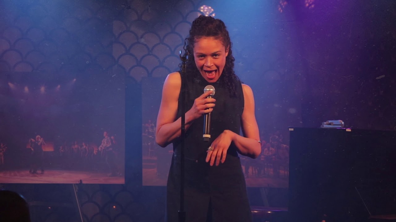"""Our Lady of the Underground""  - Sung by the Cast of Hadestown on Broadway"