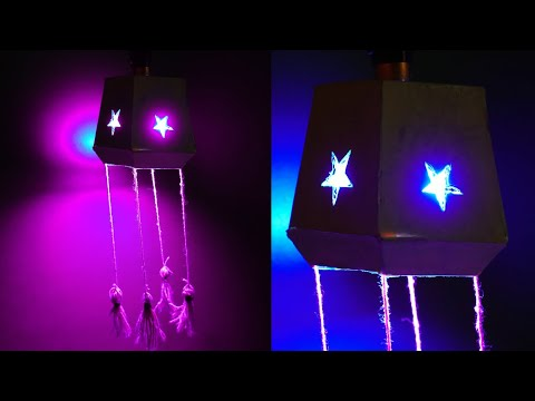 WOW !!! Paper Craft Nightlamp - How to Make Night Lamp