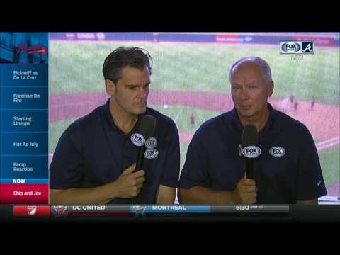 Chip Caray, Joe Simpson discuss Braves