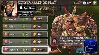 Dungeon Hunter 5 Android iOS Walkthrough - Wanted Challenge: The Demon Filth (EPIC)