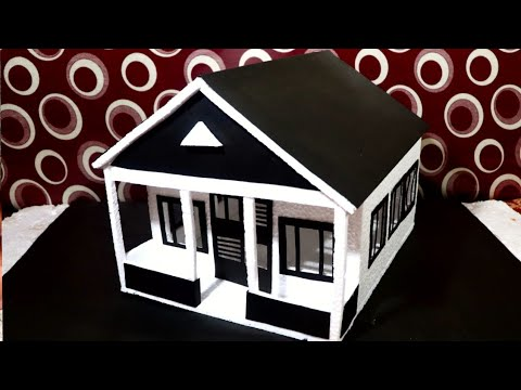 Download How to Make Thermocol House   Easy House  