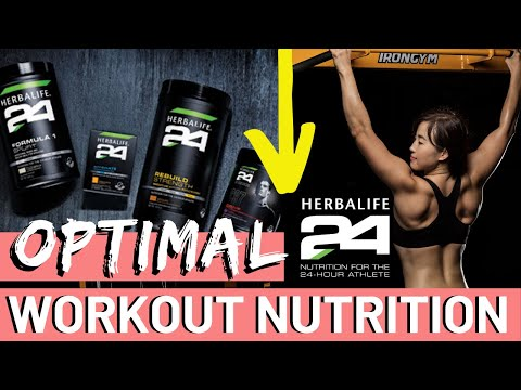 HERBALIFE 24 Workout Nutrition// REBUILD STRENGTH