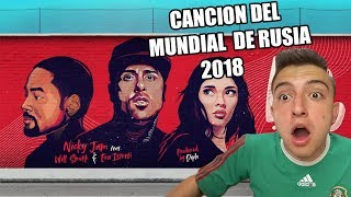 Live It Up - Nicky Jam feat. Will Smith & Era Istrefi (2018 FIFA World Cup Russia) Reacción RusoX