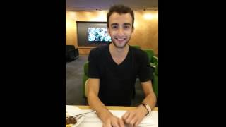Singapore Qantas Business Class Lounge with George Yasbic