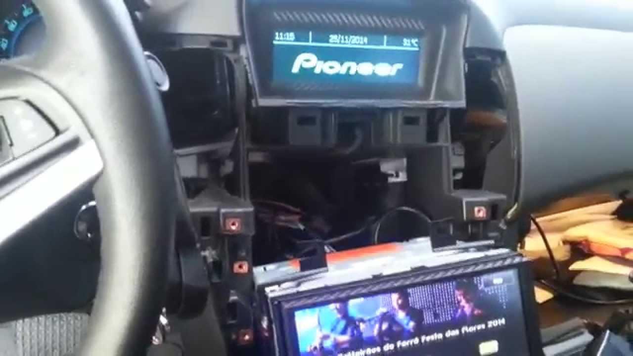 Cruze Lt Com Dvd 2 Din Pioneer Avh X8580bt Parte 3 Youtube