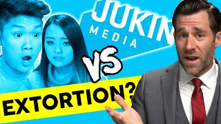 YouTuber Extortion?  MxR Plays v. Jukin - Real Law Review // LegalEagle