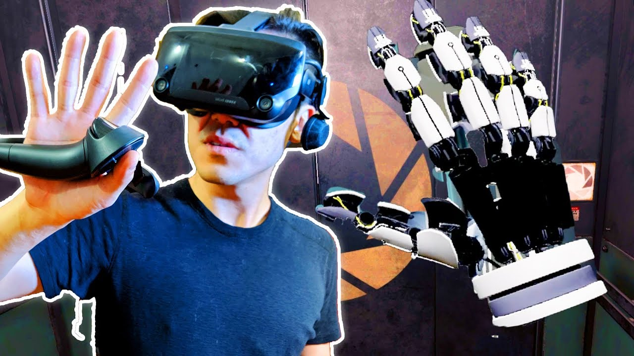 Testing Out The Most Advanced VR Controllers Ever Made