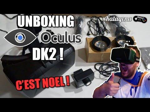 Unboxing Oculus Rift DK2 : C'est Noel !! [ Video Facecam ...