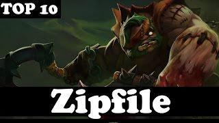 THE 10th BEST PUDGE IN THE WORLD - Zipfile - Dota 2