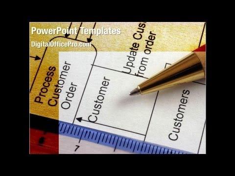 Flowchart Algorithm PowerPoint Template Backgrounds ...