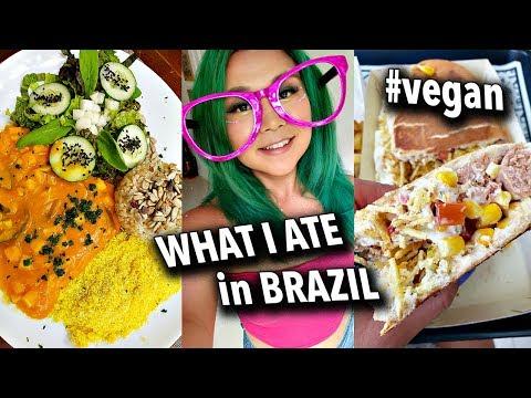 VEGAN FOOD TOUR IN BRAZIL (RIO & SAO PAULO) // Vegan Travel Vlogs