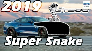 2019 Shelby GT500 Super Snake: THE POSSIBILITIES! thumbnail