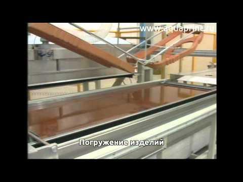Технология Аква Принт - Автоматизированная линия Robo Line