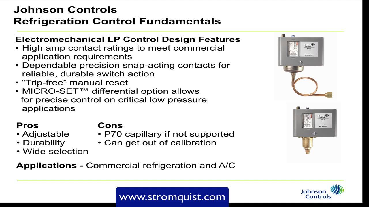 Johnson Controls Low Pressure Controllers Youtube 30 Hp Wiring Diagram