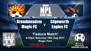 Broadmeadow Magic vs Edgeworth Eagles full match