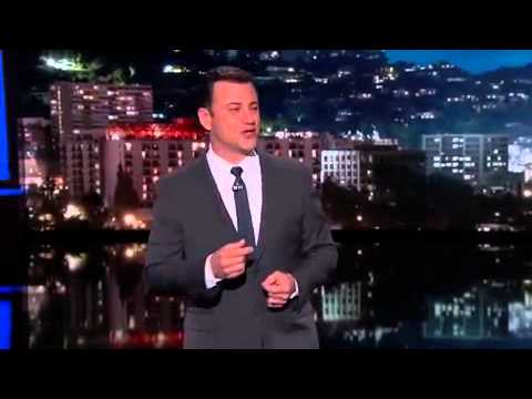 David Letterman Gets Sent Off By Jimmy Kimmel