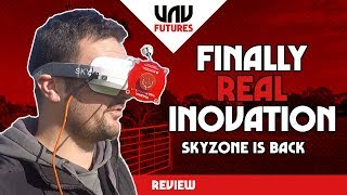 EVERY fpv goggle NEEDS to include this   UPDATED SKYZONE sky03 review