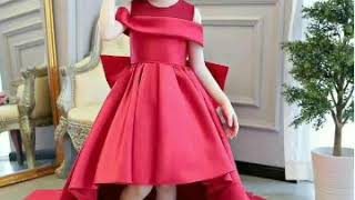Beautiful and stylish party wear dresses collection for little girls..👗👗👗