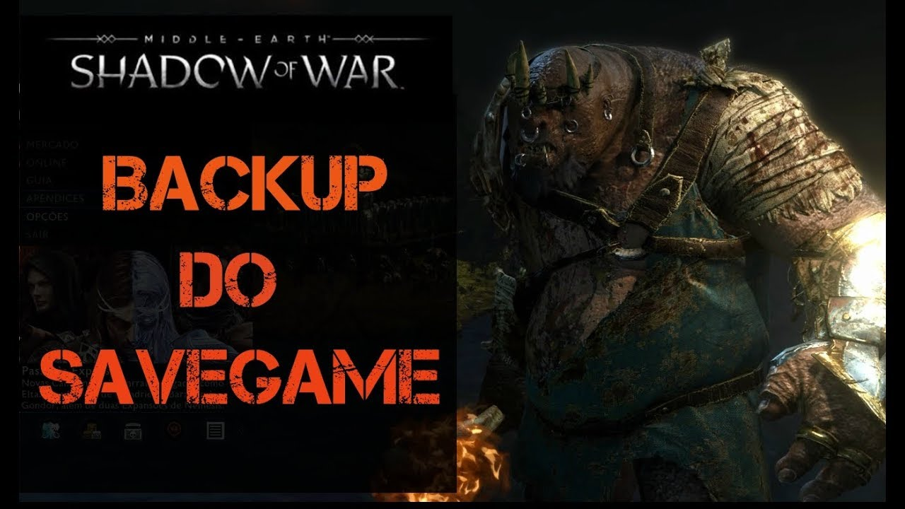 middle earth shadow of war definitive edition save game location