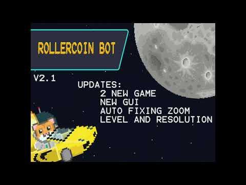Rollercoin Bot(2021)New Update(v2.1)