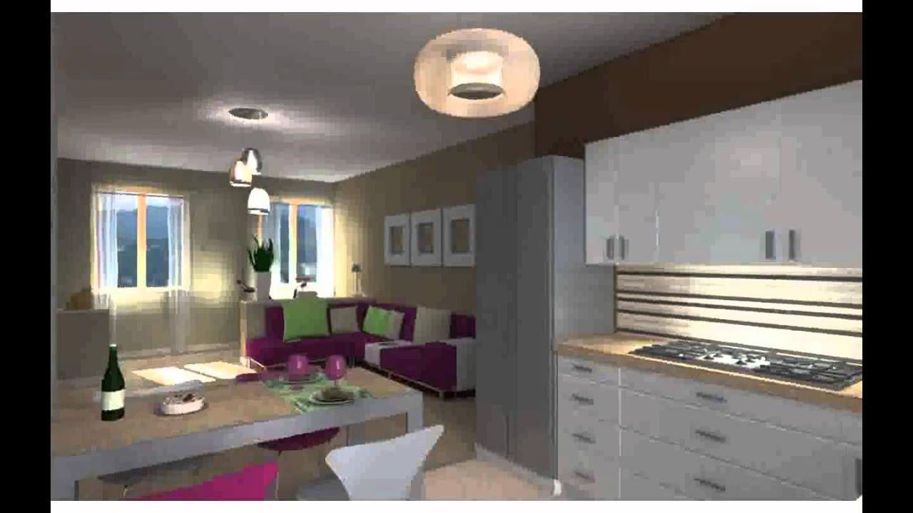 Come arredare soggiorno cucina unico ambiente immagini youtube