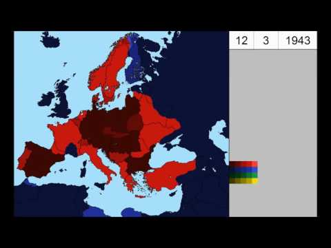 [Alternate History] World War Two in Europe - Allies´ win version (1939-1944) - Every day