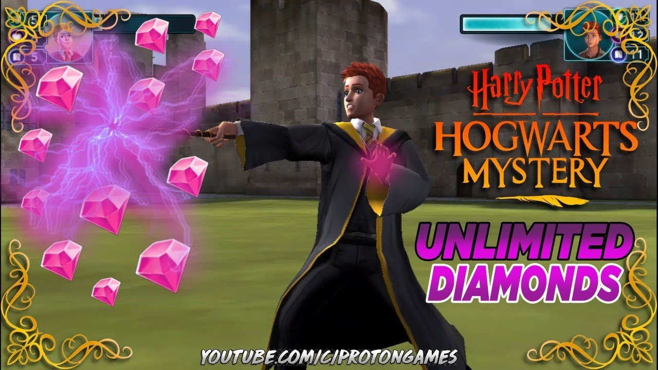 Harry Potter Hogwarts Mystery Apk Mod 1.10.2 DIAMANTES INFINITOS  #Smartphone #Android