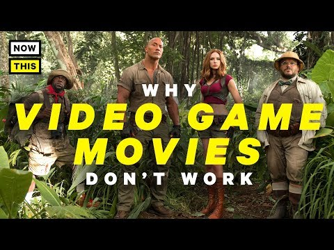 Why Video Game Movies Don't Work (and Why Jumanji Does)   NowThis Nerd