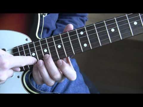 Part 10:  Vertigo (U2 Guitar Tutorial / Lesson) - Solo Lead Guitar Riff