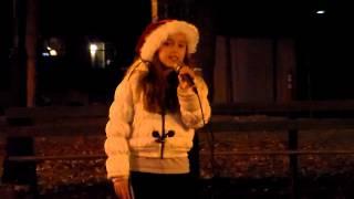 Abby  Rock Around the Christmas Tree    Gazebo Park 11 30 14