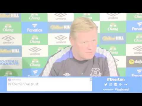 Ronald Koeman's pre-Arsenal press conference
