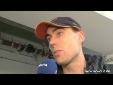 ALBA BERLIN - FC Barcelona: Interview with Daniel Santiago