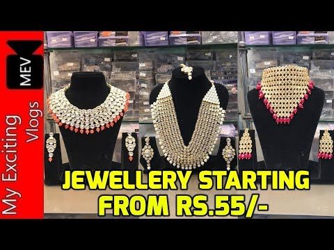 JEWELLERY WHOLESALE MARKET | WESTERN | CELEBRITY | AMERICAN DIAMOND | POLKI | KUNDAN MEENA | DELHI .