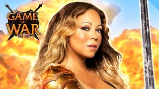 "Game of War - ""HERO"" ft. Mariah Carey - Strategy MMO Game"