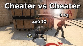 0 IQ Cheater vs 400 IQ Cheater - Co się dzieje na tym Overwatchu?!