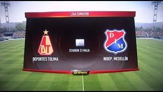 TOLIMA VS MEDELLIN (FIFA 18)