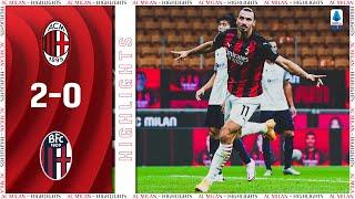 Highlights   AC Milan 2-0 Bologna   Matchday 1 Serie A TIM 2020/21