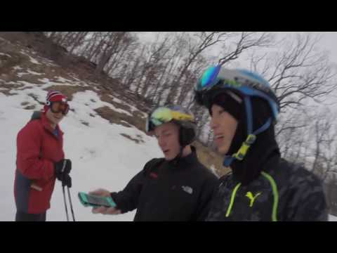 Jack's First Front Flip on Skis