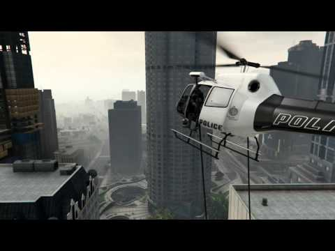 GTA 5 helicopter crash