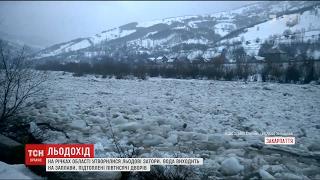 Зруйновані будинки та підтоплені двори: на Закарпатті льодоходи зносять все на своєму шляху