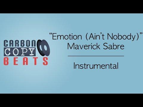 Emotion (Ain't Nobody) - Instrumental / Karaoke (In The Style Of Maverick Sabre)